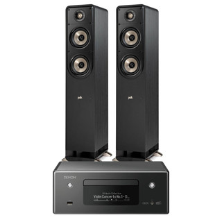 Denon CEOL RCDN11 and Polk S50e Bundle