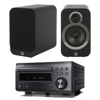 Denon RCD-M41 and Q Acoustics 3020i Music System