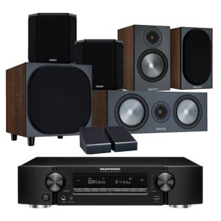 Marantz NR1711 and Monitor Audio Bronze 50 Atmos Bundle