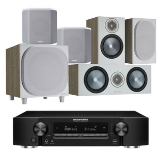 Marantz NR1711 and Monitor Audio Bronze 50 AV Bundle
