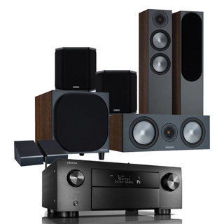 Denon AVC-X4700H and Monitor Audio Bronze 200 Atmos Bundle