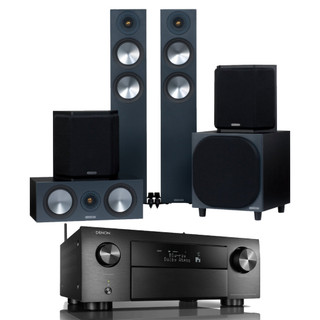 Denon AVC-X4700H and Monitor Audio Bronze 200 AV Bundle
