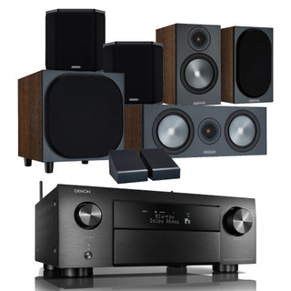 Denon AVC-X4700H and Monitor Audio Bronze 50 Atmos Bundle