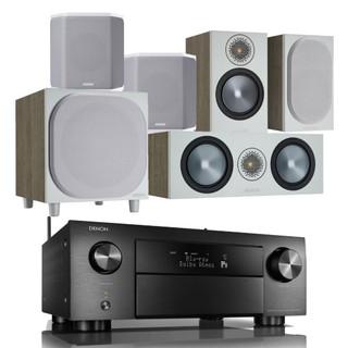 Denon AVC-X4700H and Monitor Audio Bronze 50 AV Bundle