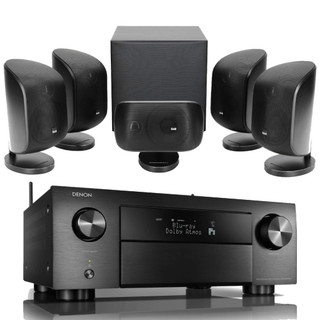 Denon AVC-X4700H and Bowers & Wilkins MT-50 Bundle