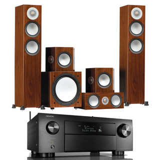 Denon AVC-X4700H and Monitor Audio Silver 200 AV Bundle