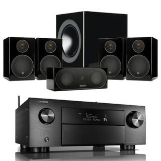 Denon AVC-X4700H and Monitor Audio Radius-90 Bundle