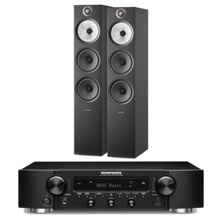 Marantz NR1200 and Bowers & Wilkins 603 S2 Floorstanders