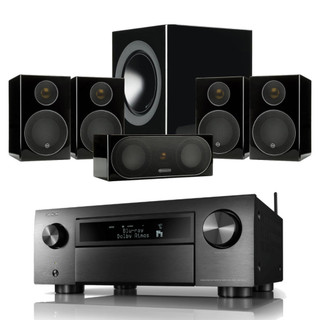 Denon AVC-X6700H and Monitor Audio Radius-90 Bundle