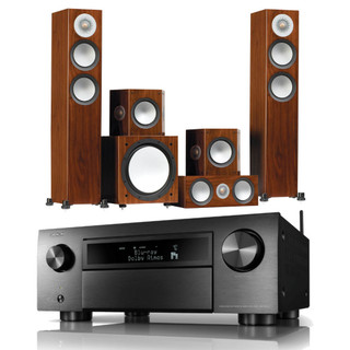 Denon AVC-X6700H and Monitor Audio Silver 200 Bundle