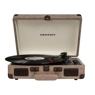 Cruiser Deluxe Portable Turntable - Havana