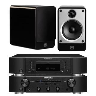Marantz PM6007, CD6007 and Q Acoustics Concept 20 Bundle
