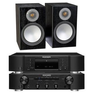 Marantz PM6007, CD6007 and Monitor Audio Silver 100 Bundle