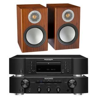 Marantz PM6007, CD6007 and Monitor Audio Silver 50 Bundle