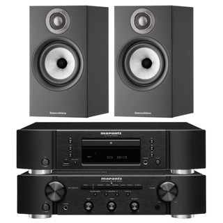 Marantz PM6007, CD6007 and Bowers & Wilkins 607 S2 Bundle