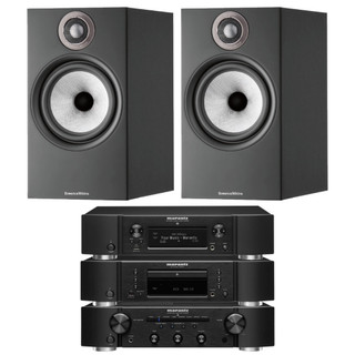 Marantz PM6007, CD6007, NA6006 and B&W 606 S2 Bundle