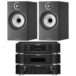 Marantz PM6007, CD6007, NA6006 and B&W 607 S2 Bundle