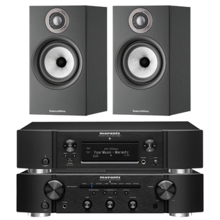 Marantz PM6007, NA6006 and Bowers & Wilkins 607 S2 Bundle