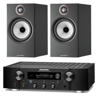 Marantz PM7000N and Bowers & Wilkins 606 S2 Bundle