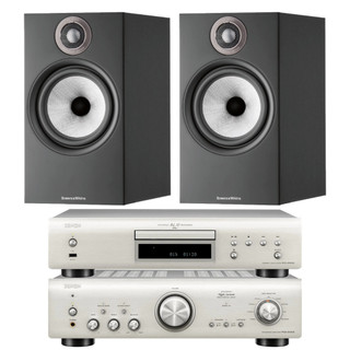 Denon PMA-800NE, DCD-800NE and Bowers & Wilkins 606 S2 Bundle