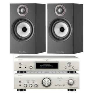 Denon PMA-800NE, DNP-800NE and Bowers & Wilkins 607 S2 Bundle
