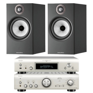 Denon PMA-800NE, DNP-800NE and Bowers & Wilkins 606 S2 Bundle