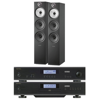Rotel A11 & CD11 Tribute and Bowers & Wilkins 603 S2 Bundle
