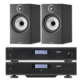 Rotel A11 & CD11 Tribute and Bowers & Wilkins 607 S2 Bundle