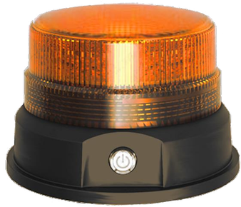 TMF- 50 Magnetic,  Rechargeable Amber Beacon