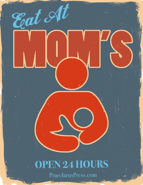 Free Poster-Eat At Moms