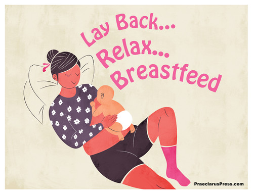 Free downloadable poster-Lay Back, Relax