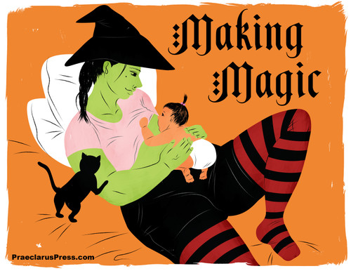 Free downloadable poster-Making Magic