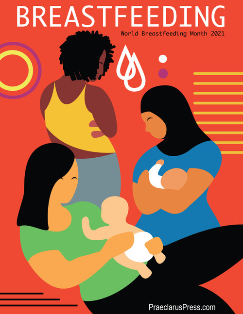 Free downloadable poster- World Breastfeeding Month 2021