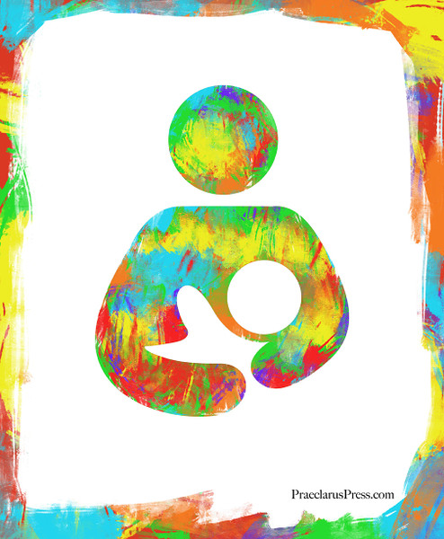Free Poster-Rainbow Breastfeeding