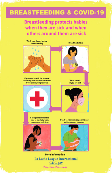 Free infographic-Breastfeeding and COVID-19