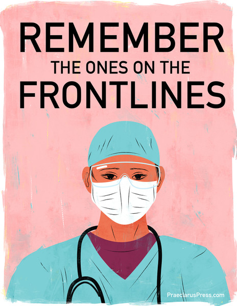 Free downloadable poster-Remember the Frontlines