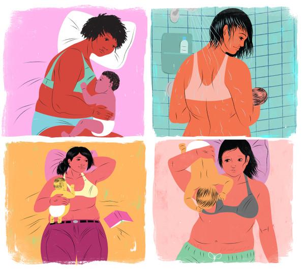 Plus size breastfeeding bundle