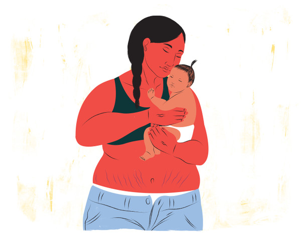 Mother's postpartum body