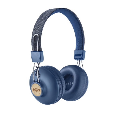 Denim | Positive Vibration 2 Wireless Headphones - The House of Marley IT