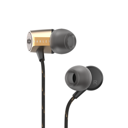 Brass | Uplift 2.0 Earbuds - The House of Marley IT