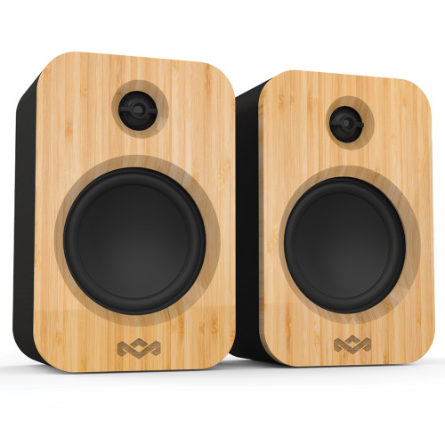 Get Together Duo Bluetooth Bookshelf Speakers - The House of Marley UK