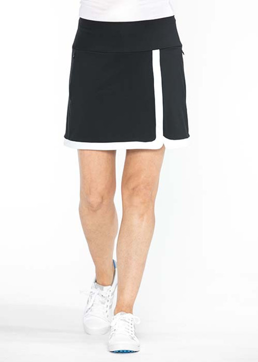 Simply Sassy Golf Skort - Black