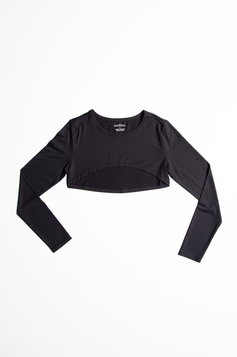 Sun's Out Shrug - Black