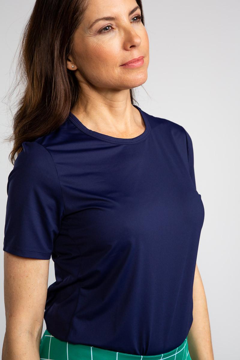 Tee It Up Shortsleeve Golf Shirt - Navy