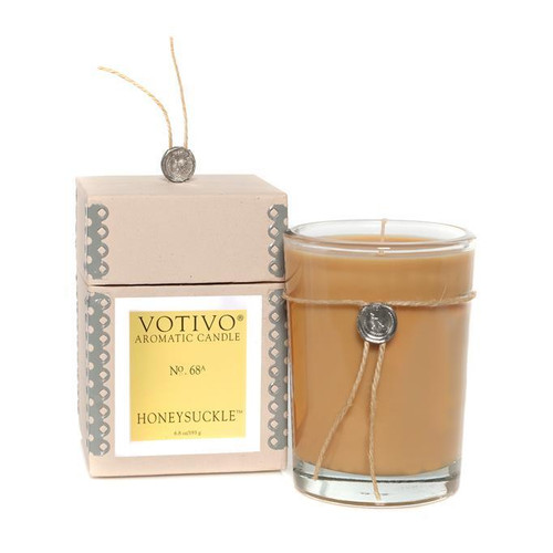 Votivo Aromatic Collection Honeysuckle Boxed Candle