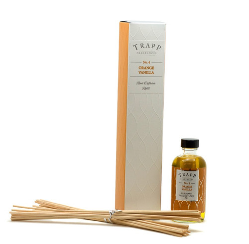 Trapp Fragrances Orange Vanilla Reed Diffuser Refill