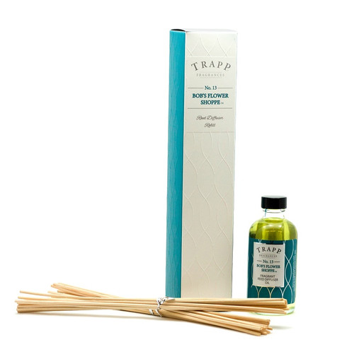 Trapp Fragrances Bob's Flower Shoppe Reed Diffuser Refill