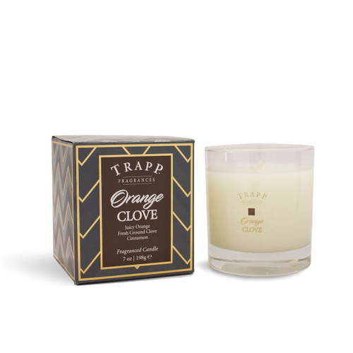 Trapp Fragrances Seasonal Collection Orange Clove Large Candle
