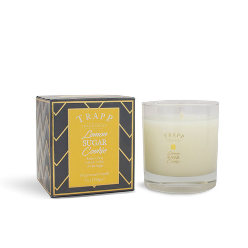 Trapp Fragrances Seasonal Collection Lemon Sugar Cookie Large Candle
