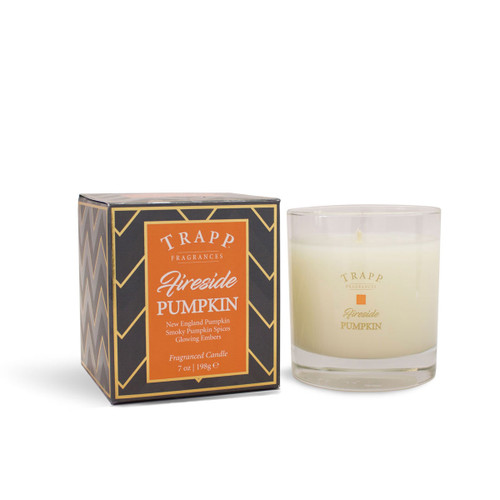 Trapp Fragrances Seasonal Collection Fireside Pumpkin Large Candle